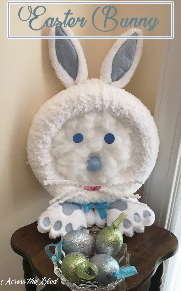 Easy Bunny Craft Across the Blvd