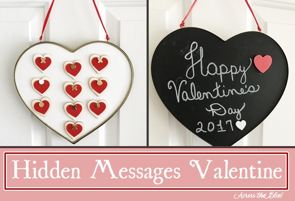 Hidden Messages Valentine
