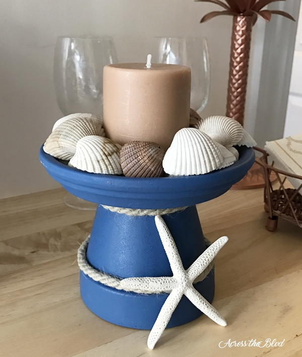 A Look Back at 2017 ~ Top Ten Posts Terra Cotta Pot Candle Holder