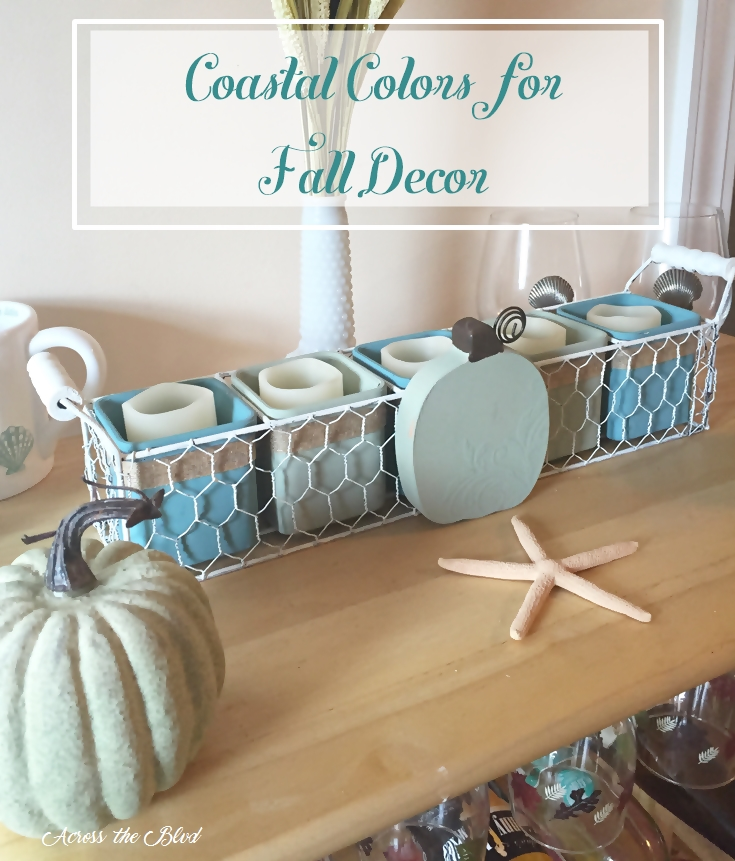 Coastal Fall Decor Across the Blvd