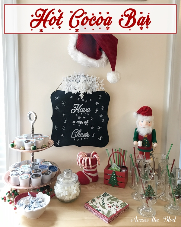 Hot Cocoa Bar For The Holidays