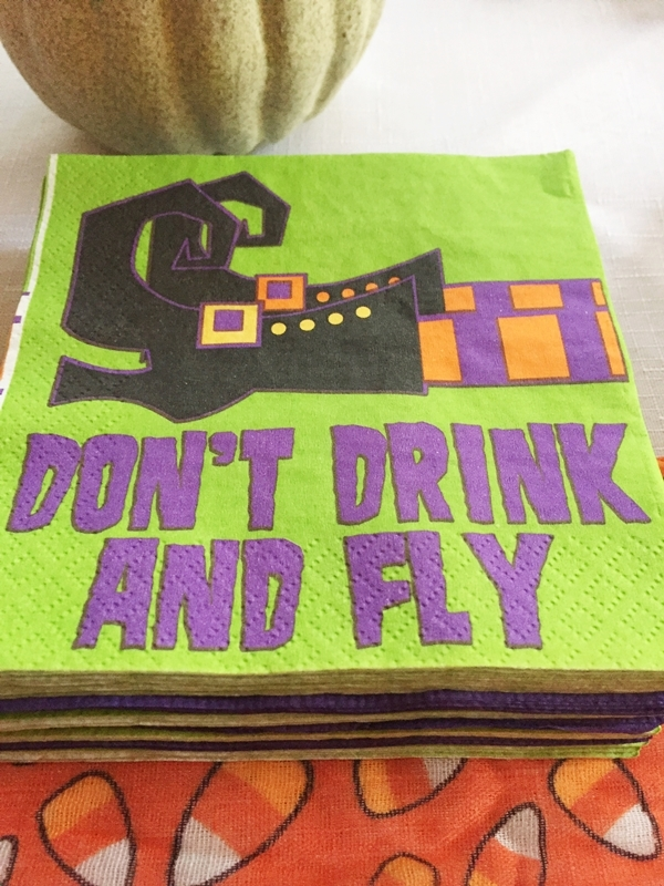 Halloween Rum Punch Napkins