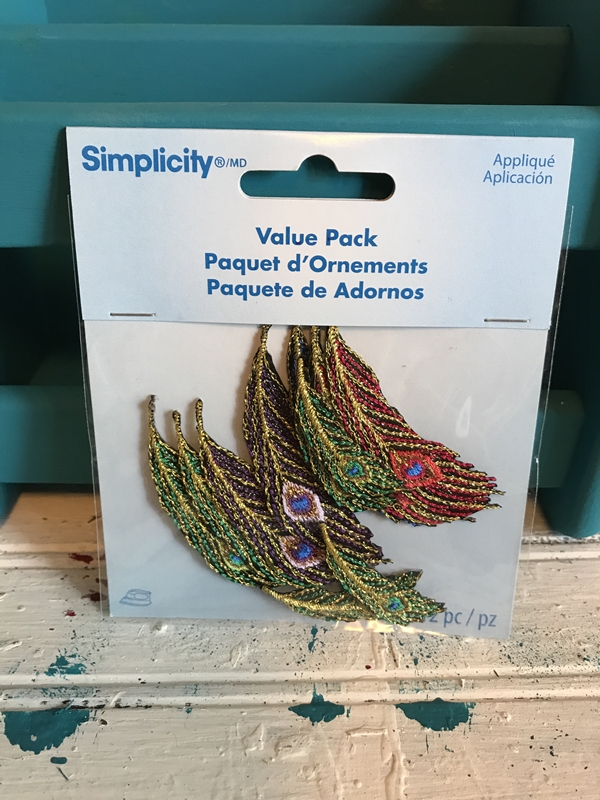 peacock adornments