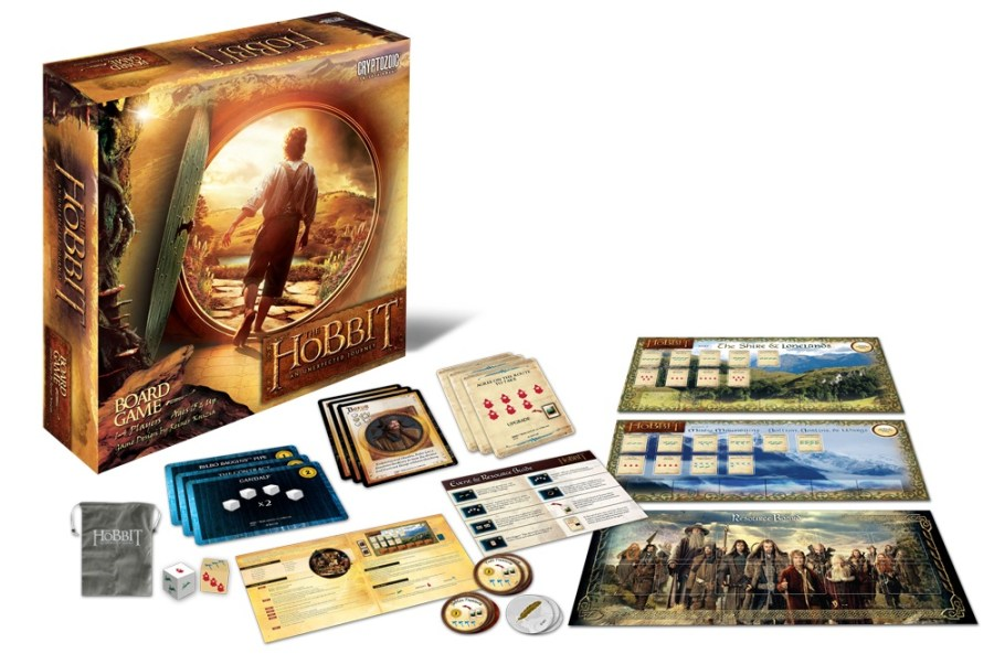 The Hobbit: An Unexpected Journey Board Game by Cryptozoic