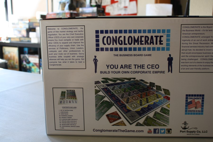 Conglomerate board game