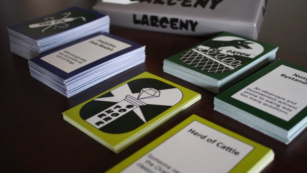 Larceny Kickstarter Card Game