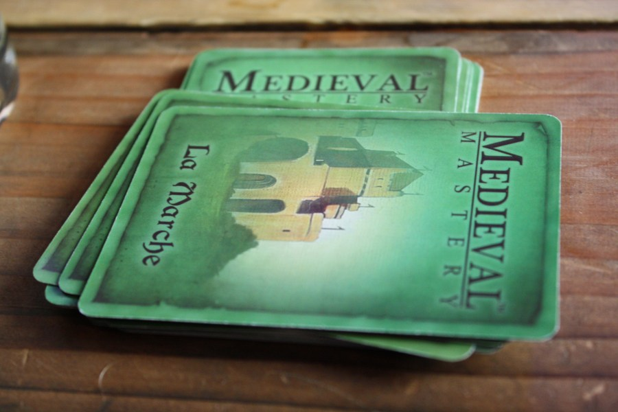 medieval mastery board game