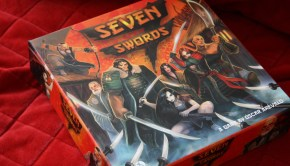 seven swords samurai board game
