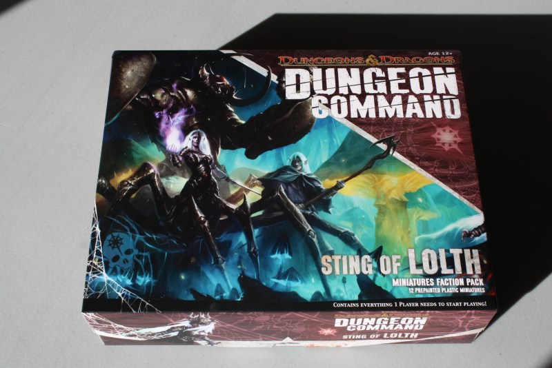 Dungeon Command Lolth Box Art