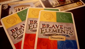 brave the elements card game board game