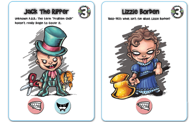 evil baby orphanage cards