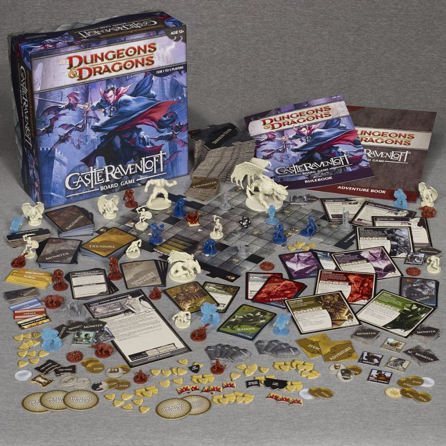 castle ravenloft dungeons and dragons board game