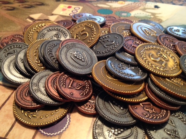 tuscany viticulture coins board game
