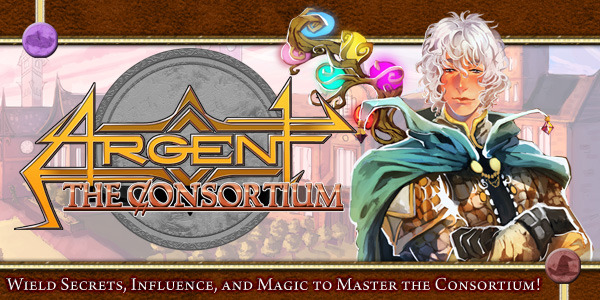 Argent the Consortium Card Board Game Kickstarter