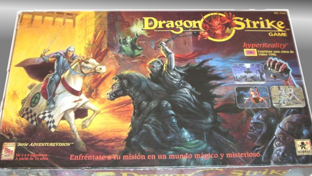 Dragon Strike board game box, TSR 1993