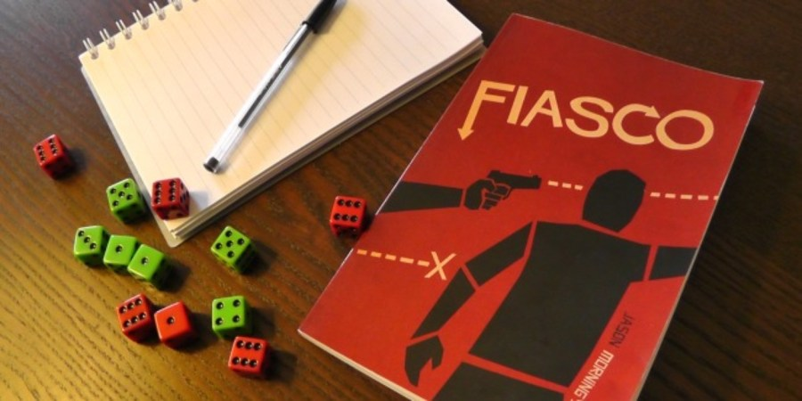 fiasco roleplaying board game