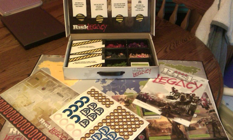 Risk Legacy unboxed