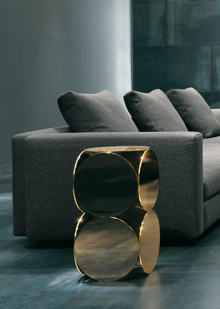 China Replica Minotti Gold Still Coffee End Side Table