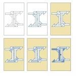 Acrylbild geometrisch