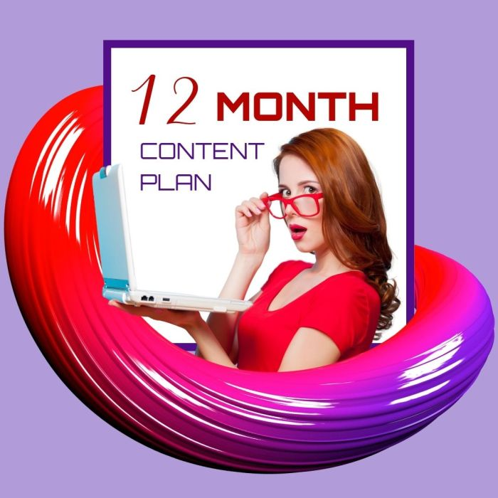 12 Month SEO Blog Content Marketing Plan