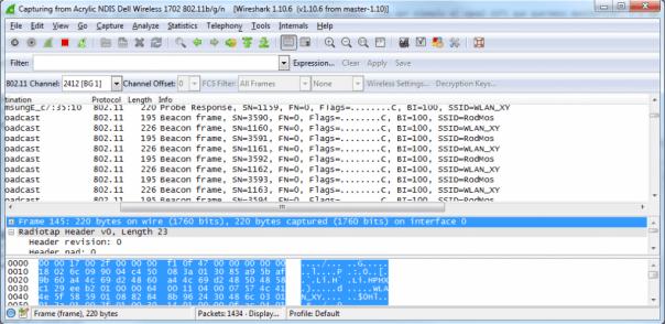 Wireshark Capture NDIS WiFi Windows