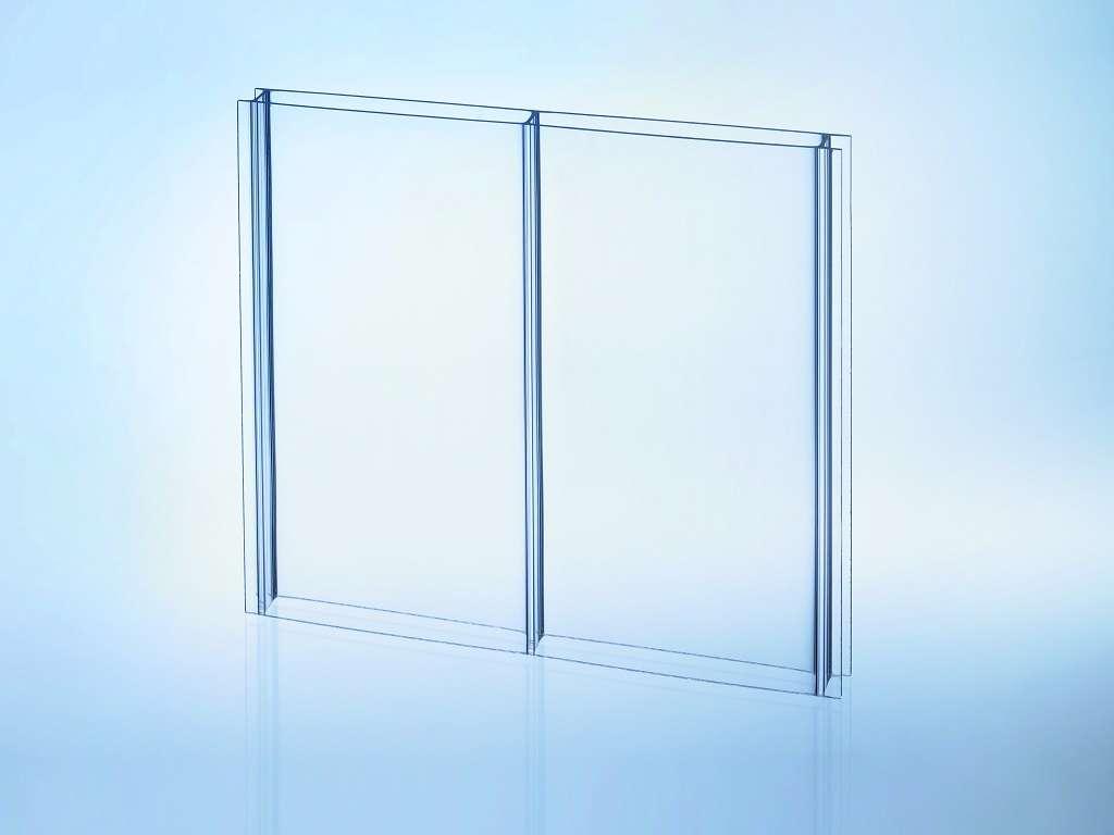 Highlux® Acrylglas-Stegplatte (Plexiglas® Rohmasse) 16Mm, Klar
