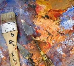 Paletmes schilderen