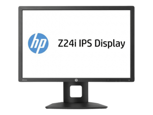 HP Z24i Monitor hardware screen
