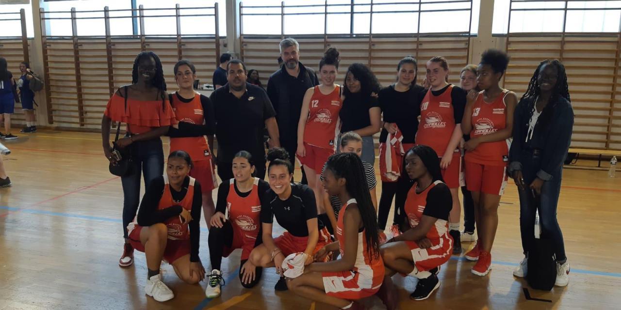 [U18F] Paulo et ses filles championnes !