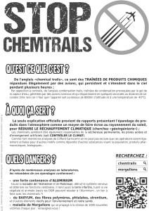 Flyer Chemtrail Noir-Blanc - Verso