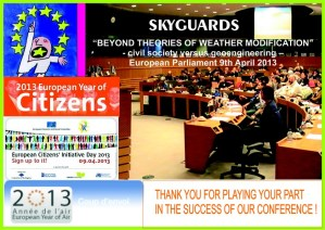 Skyguards conference Bruxelles 9 avril 2013