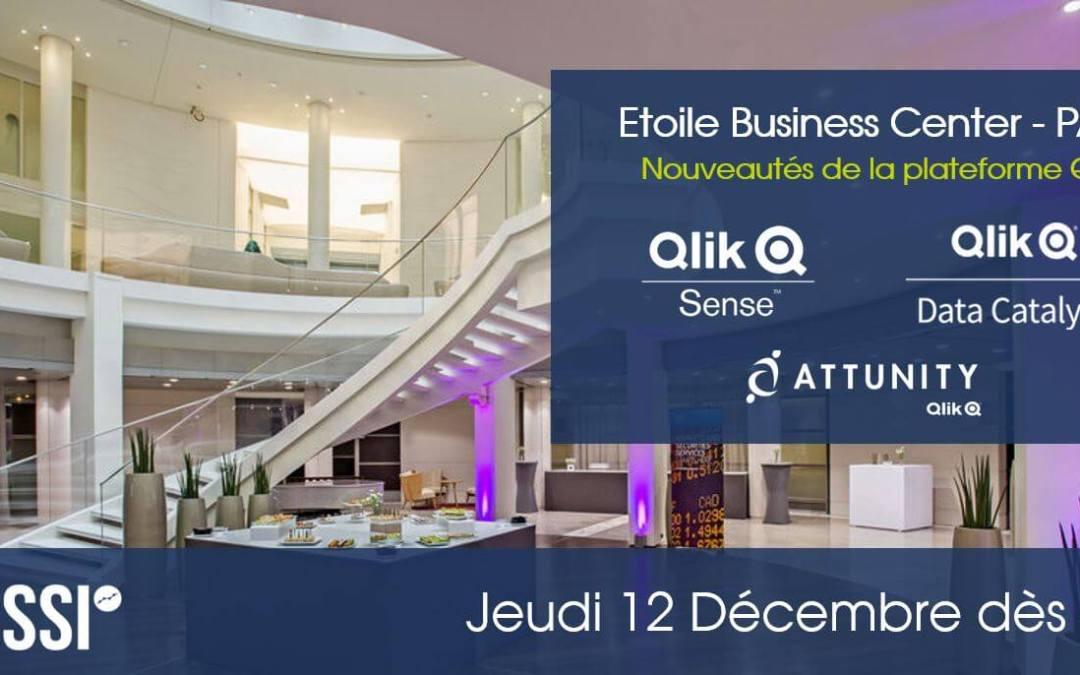 Matinale / Nouveautés Qlik – Le Jeudi 12 Décembre 2019 à Paris