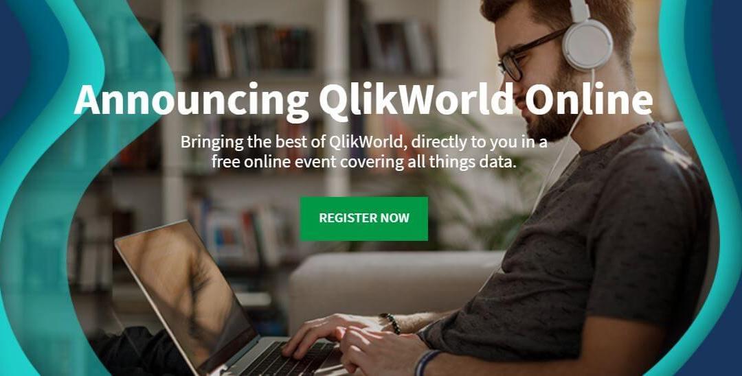 QlikWorld 2020 – Événement Virtuel les 24 et 25 Juin