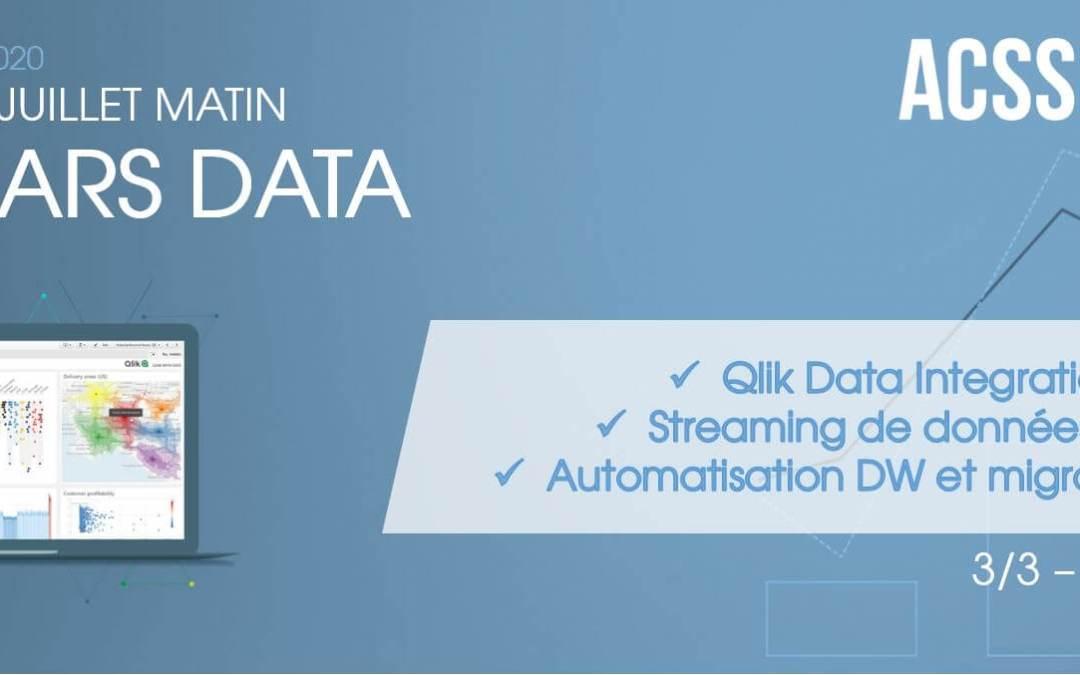 REPLAY – Qlik Data Integration : migrer vos données dans le Cloud, automatiser vos DataWarehouses et mettre en place un catalogue de données !