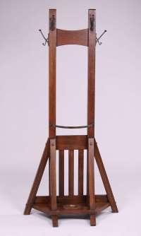 Grand Rapids Bookcase & Chair Co Double Coatrack ...