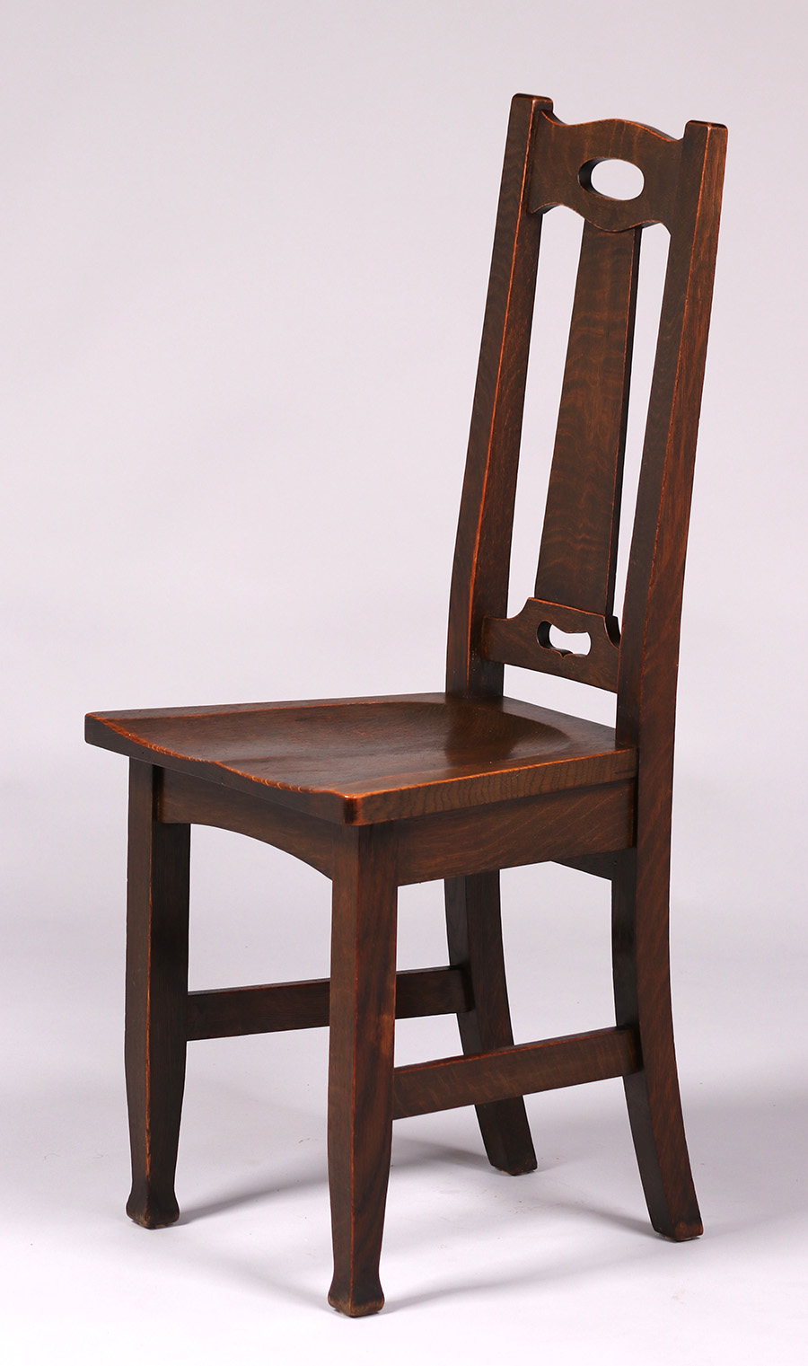 chair design with handle tulle covers wedding stickley brothers cutout side california historical