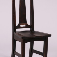 Chair Design With Handle Beach Backpack Costco Stickley Brothers Side Cutout California Historical