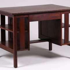 Stickley Sterling Sofa Table Extra Deep Sectional L Jg Desk C1907 1912 California Historical Design