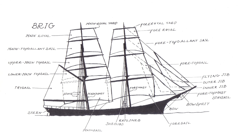 diagram labeled ship diagram