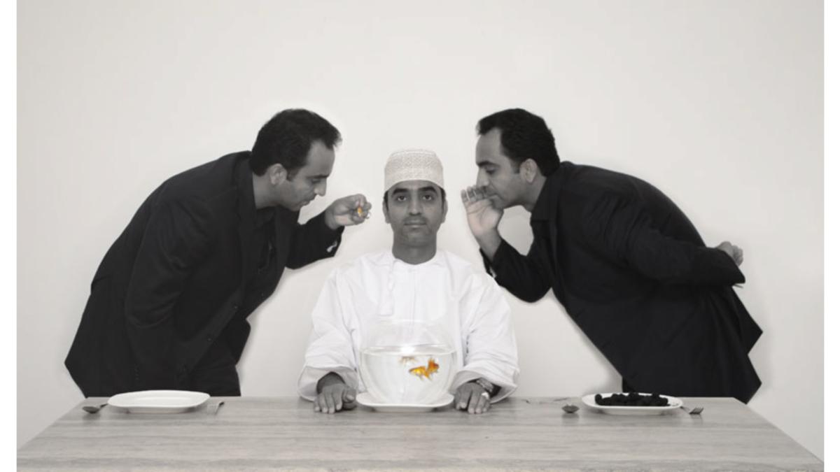 Giocando con l'identità: Artisti contemporanei dell'Oman – Hassan Al Meer & Muzna Al Musafir