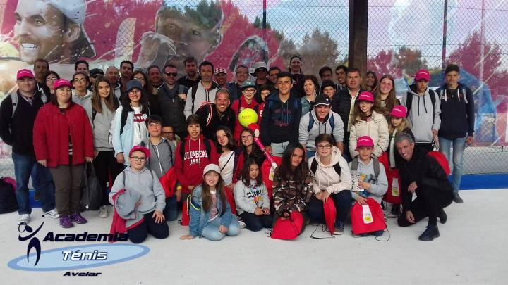 A Academia de Ténis de Avelar no Millennium Estoril Open 2018