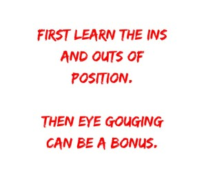 When To Use Eye Gouging In Groundfighting