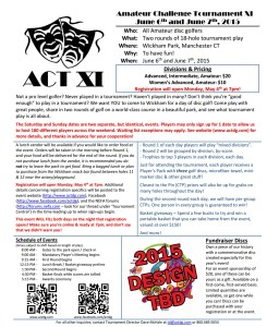 ACT XI Flyer