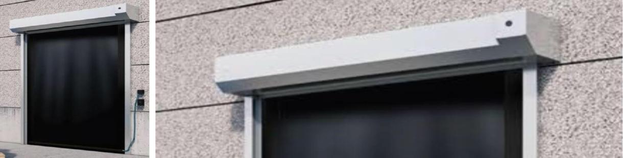 ACRD40 High Speed External ATEX Door