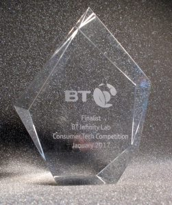 BT Infinity Lab trophy
