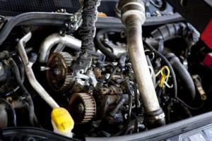 Reparatie aan auto