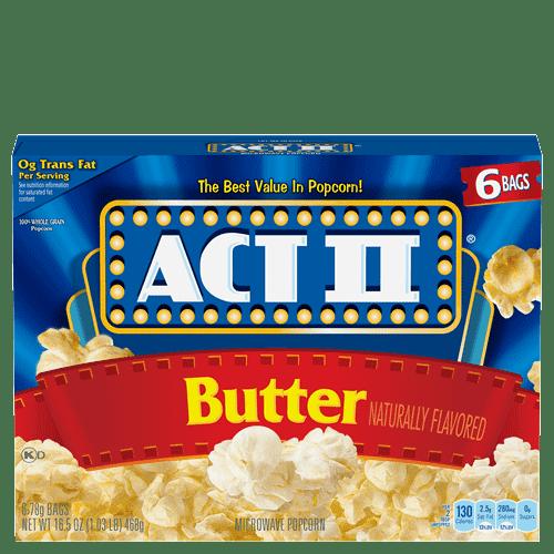 butter popcorn act ii