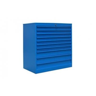 armoire d atelier basse a tiroirs en acier