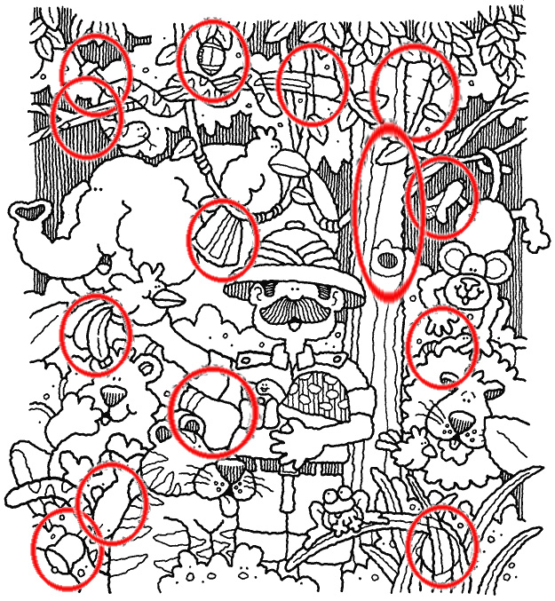 Dibujos Ocultos Actiludis