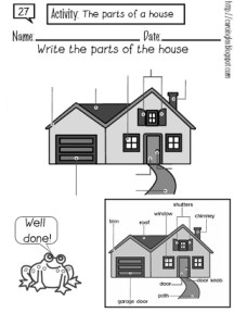 27. The parts of a house-p